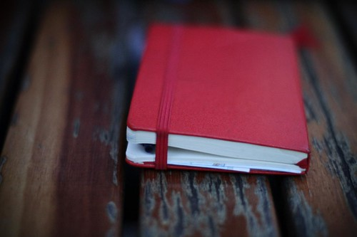 Little red notebook | by Halans