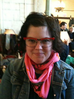 brooklyn flea - sally jesse X glasses | by daniellemaveal