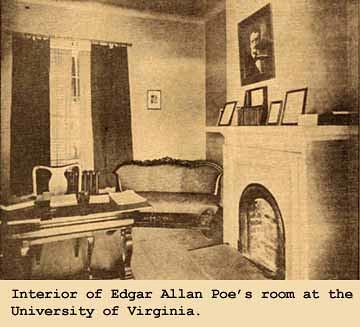History Poe Enrolls At University Of Virginia February
