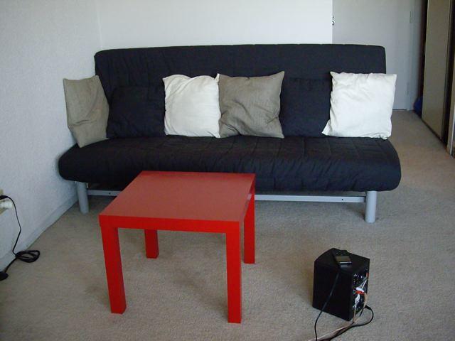 vue coin salon canap lit ikea beddinge table lack flickr. Black Bedroom Furniture Sets. Home Design Ideas