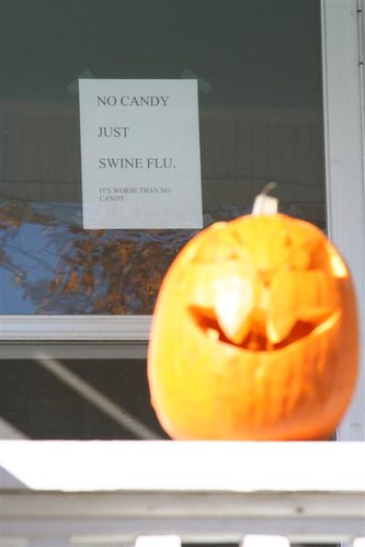 Hallowfluween - No Candy, Just Swine Flu | by thomaswolfesghost