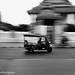 Tuk Tuk passing Wat Pho, Bangkok