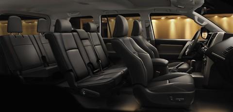 Prado Interior Asientos Toyota Premium Transport Service
