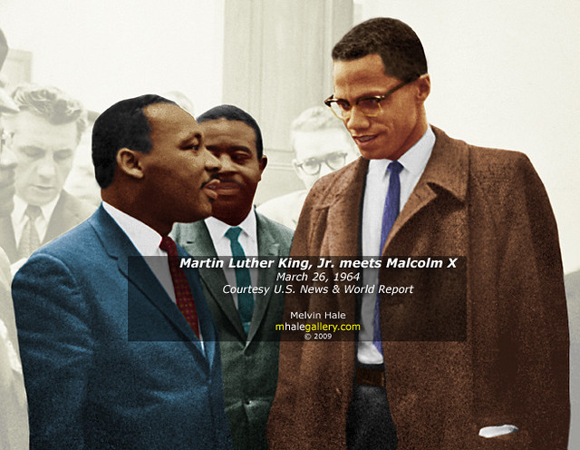 compare and contrast martin luther king jr and stokely carmichael Leader: martin luther king: malcolm x: religion: describe the religious outlook of king and malcolm x southern christian he was a baptist minister influenced by the teachings of mohammed.