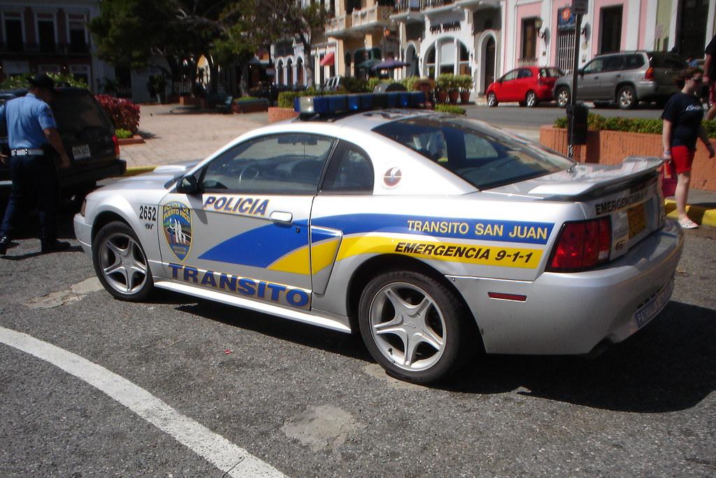 Policia Of San Juan Ford Mustang Gt Police Car By Semajit