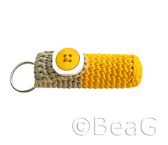 Keychain Lip Balm Holder (lipcrèmehouder) | by Made by BeaG