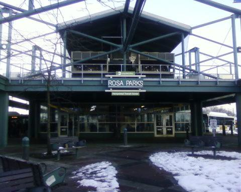 Rosa parks hempstead transit center this is a picture of - Centre commercial rosa parks ...