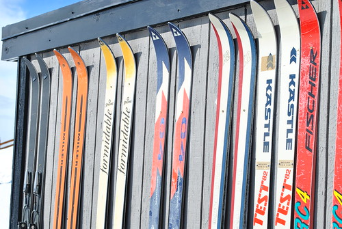 Skis on the lodge | by Pascal Collet