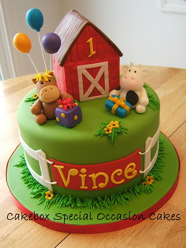 Farm Cake | by Cakebox Special Occasion Cakes