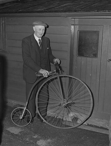 Penny Farthing bicycle | by LlGC ~ NLW