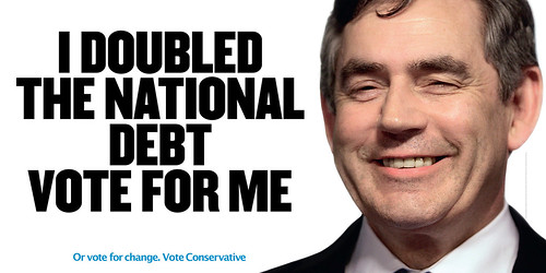 Gordon Brown's Record: Doubled the national debt | by conservativeparty