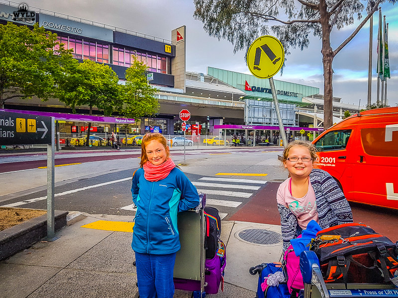 Long Haul Flights with Kids from Australia