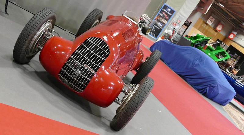 Alfa Romeo 308 Monoposto 1938 - Retromobile Paris 2017 32702668092_02e343651e_c