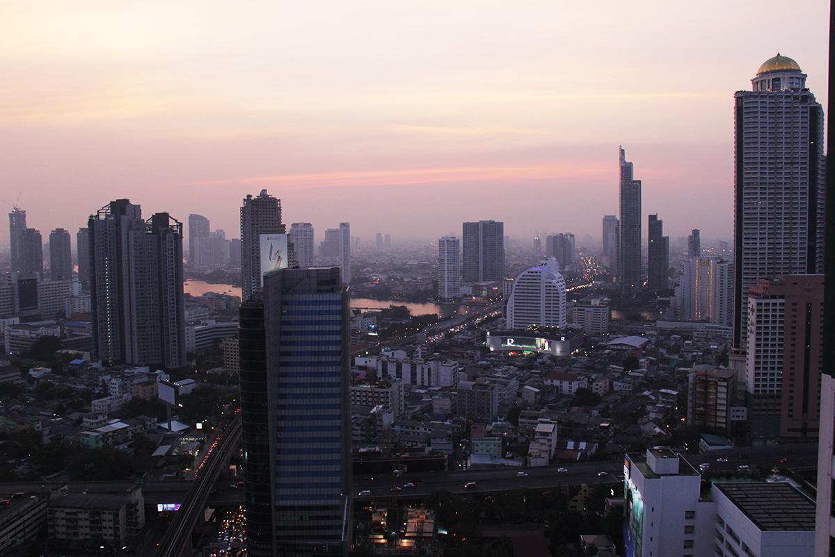Bangkokin kattoterassit