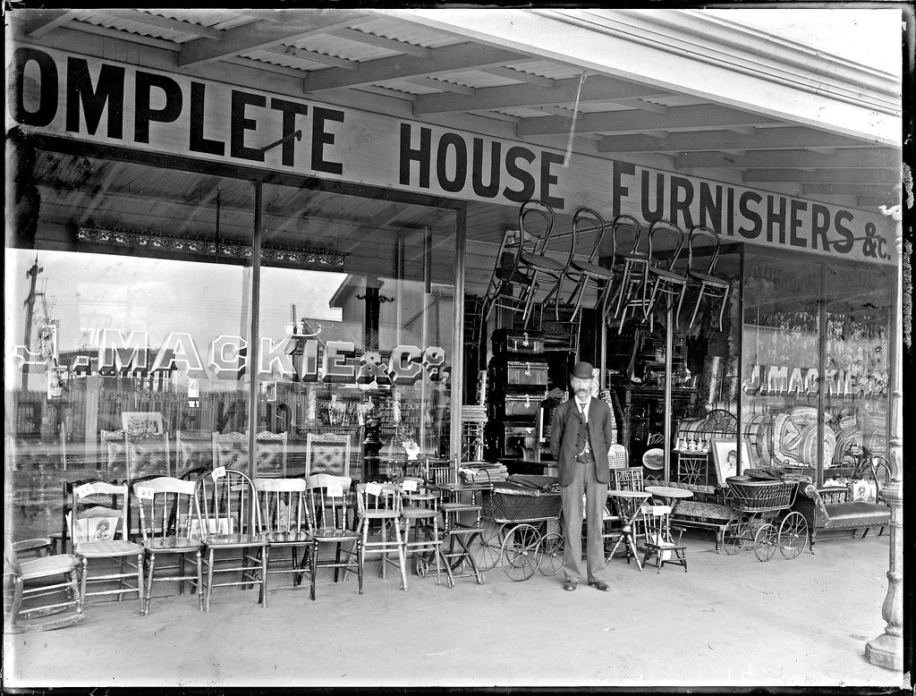 James mackie and co federal furniture store 175 hunter s for Furniture home store newcastle