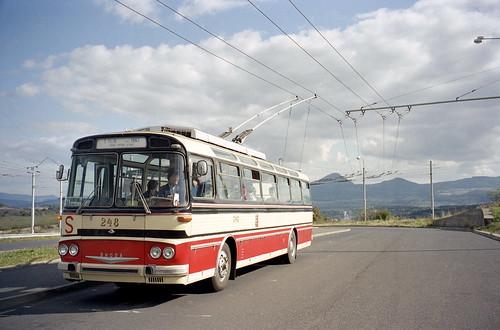 Teplice – Plzeň Photo: 2002-09-29 Teplice Trolleybus Nr.248 (ex Plzeň)