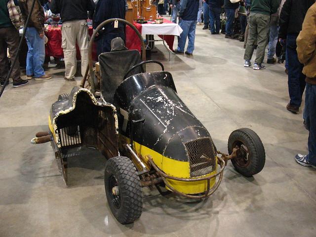 Vintage Midget Race Car Parts