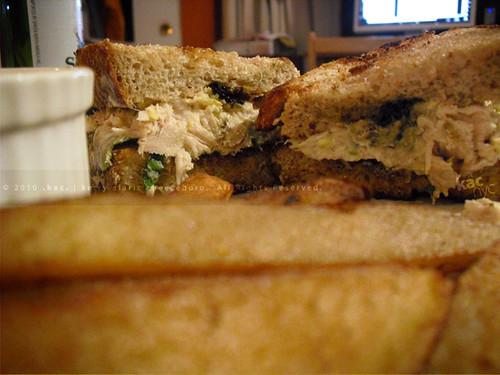 Aninimal Book: Tuna Salad Sandwich with Egg, Scallions, and Caviar | Beer ...