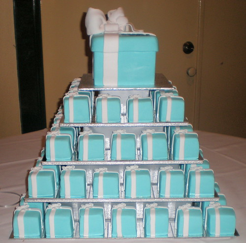 Light Blue Cake Boxes