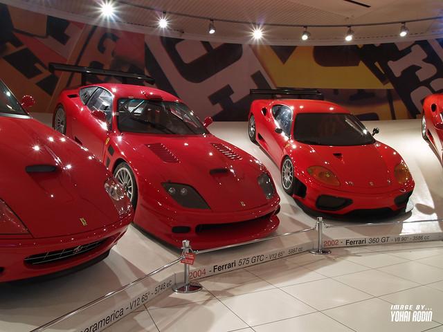 2002 Ferrari 360 Gt 2004 Ferrari 575 Gtc Yohai Rodin Flickr