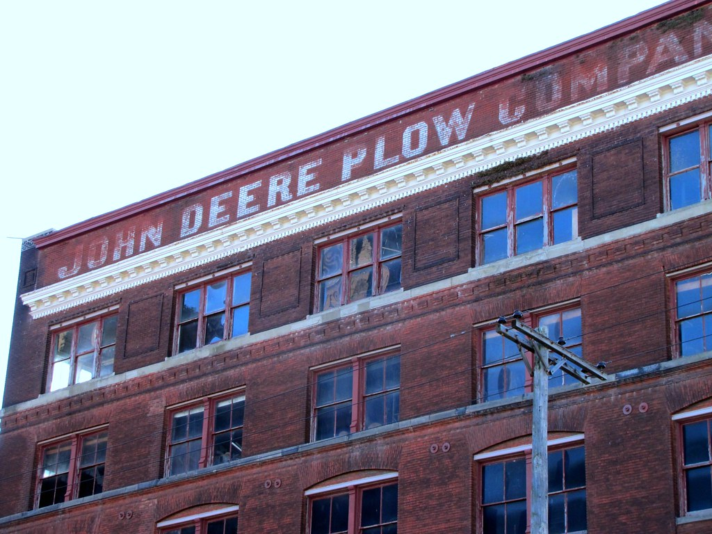 John Deere Plow Company Ghost Sign For John Deere Plow