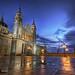 Blue Hour @ Almudena Cathedral #3 :: HDR :: DRI