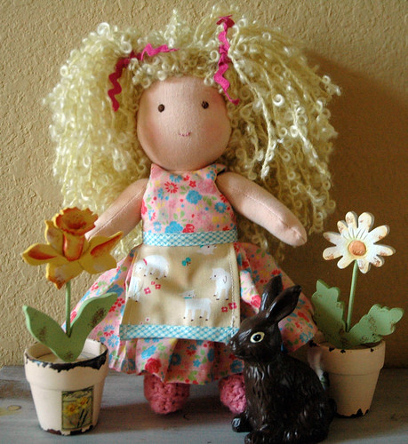 Madison the little waldorf doll | by The Driftwood Thimble