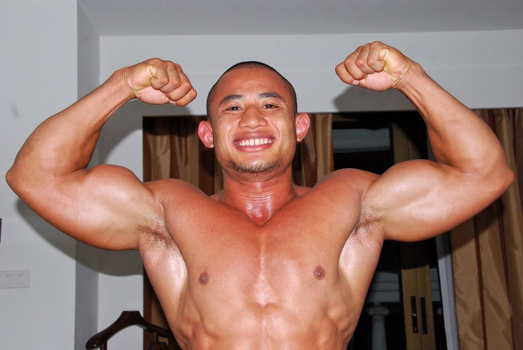 DSC_6098 | Tawan Bar Bodybuilder Bangkok Muscle | run26