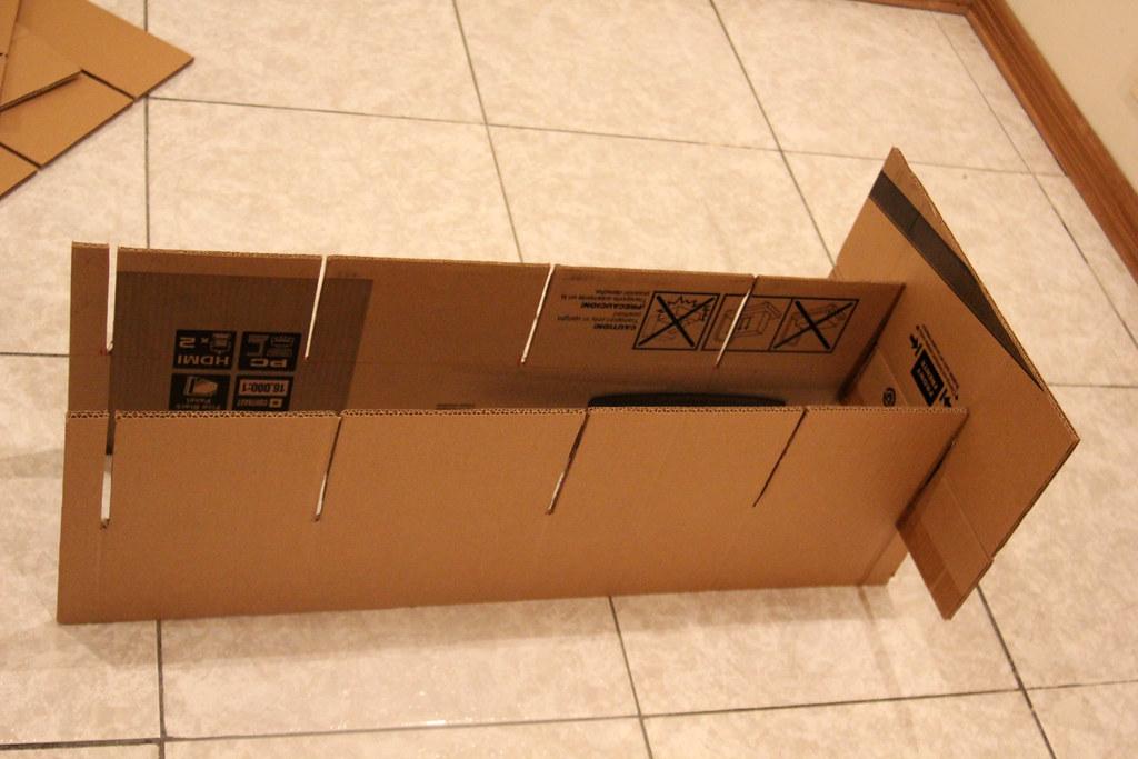 La profundidad del carril de un estante y la de una latera for Estantes de carton