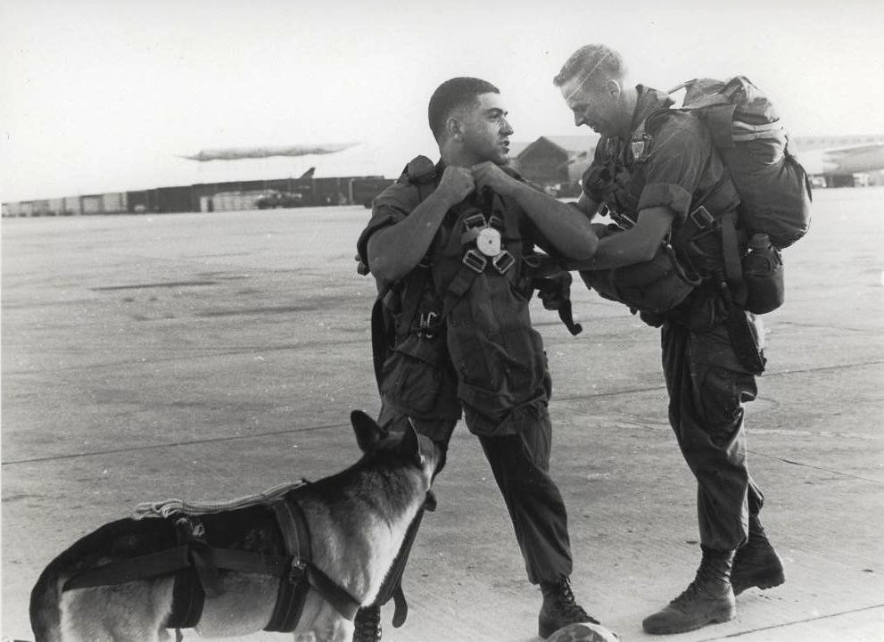Sgt Spano And Lobo Da Nang Vietnam August 1968 Flickr