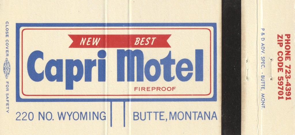Capri Motel - Butte, Montana