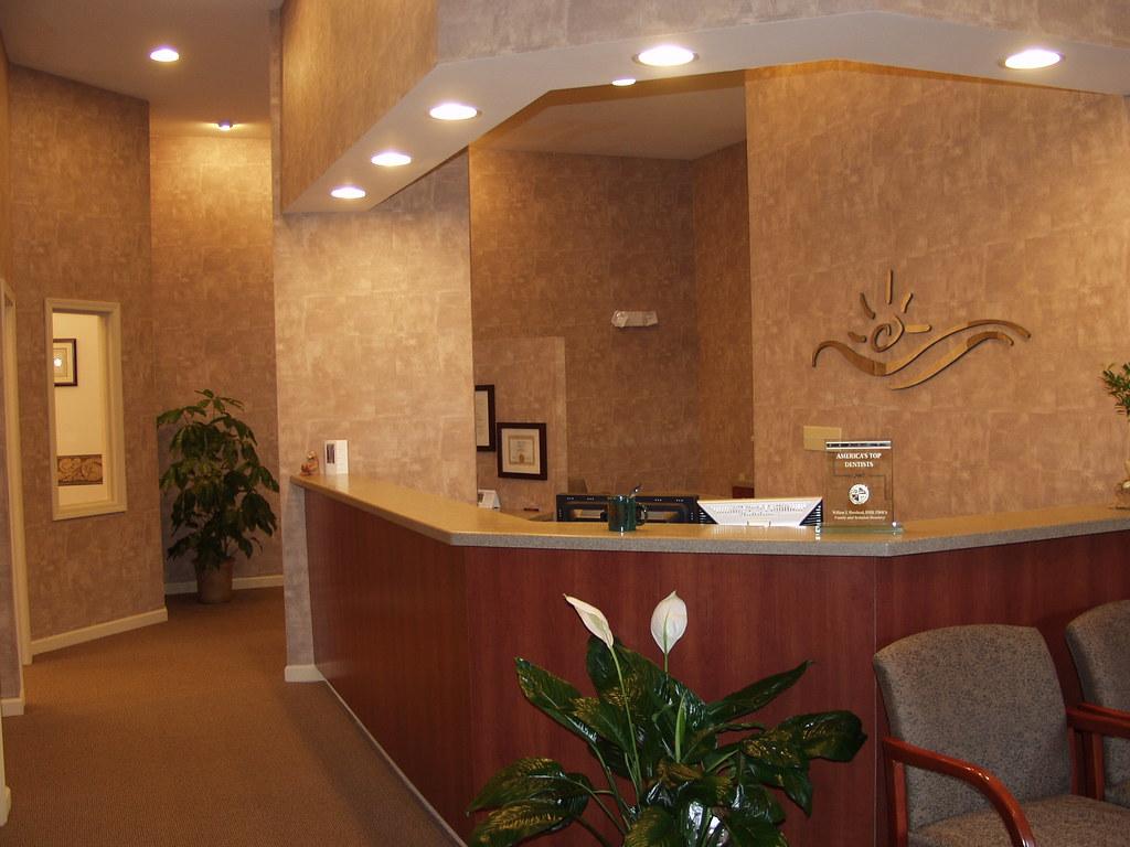 dr moorhead dental office reception desk design ergonomics flickr