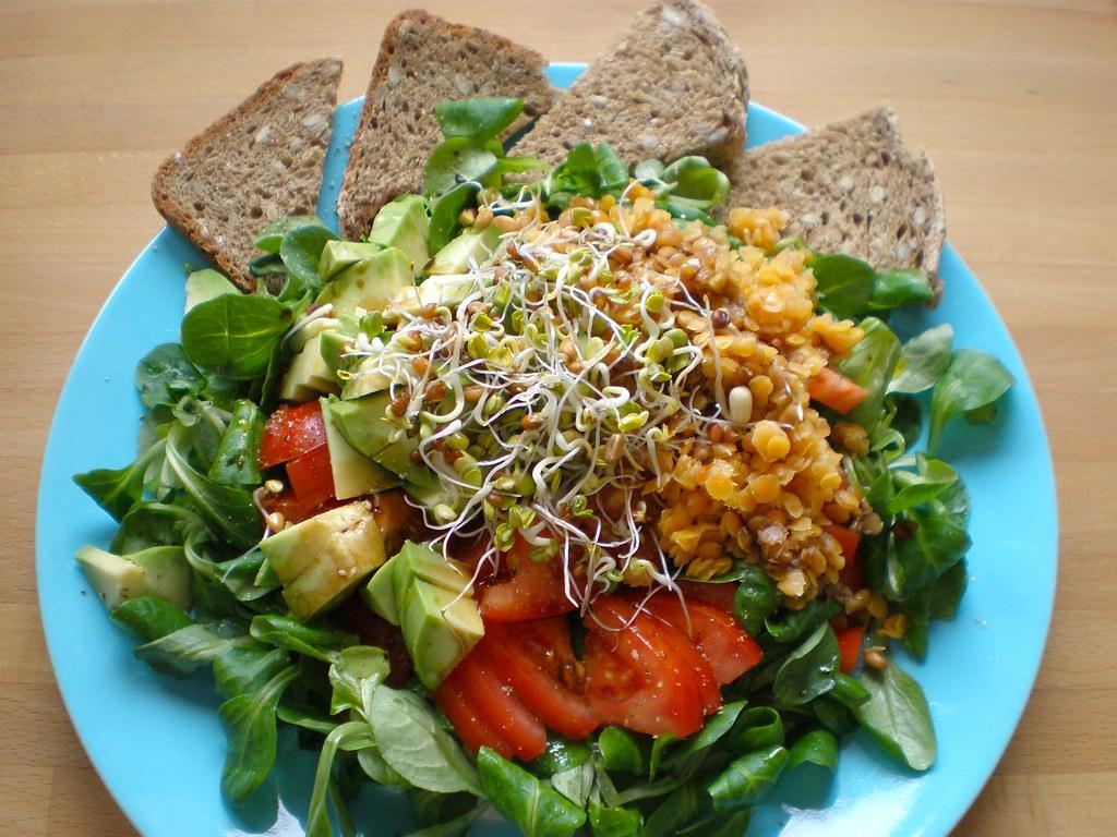 salate zum abnehmen gesund