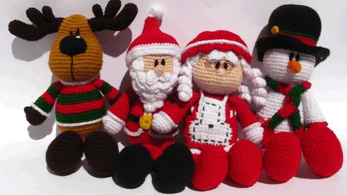 Kit Amigurumi Navidad : Amigurumi Christmas Special @ etsy my picuu Flickr