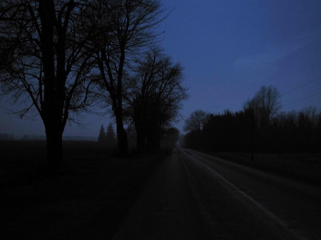 Country road at night | Jason Mader | Flickr