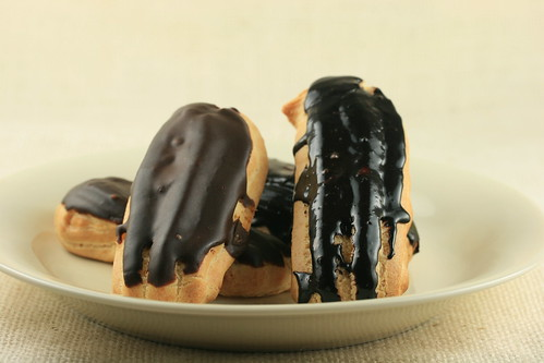Eclairs - New School of Cooking | by Food Librarian