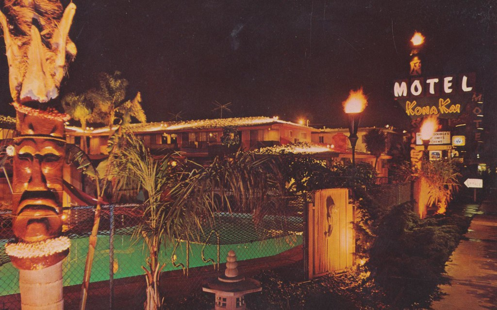 Kona Kai Motel - Anaheim, California