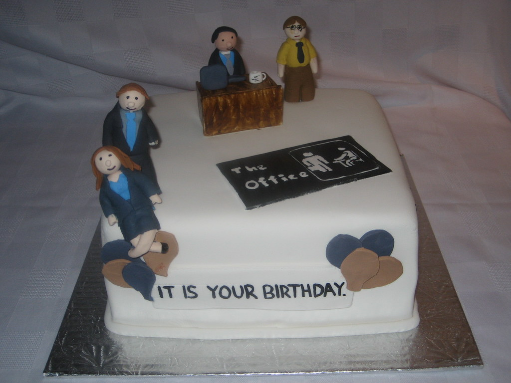 The Office Cake Well It Has Finally Happened I Made
