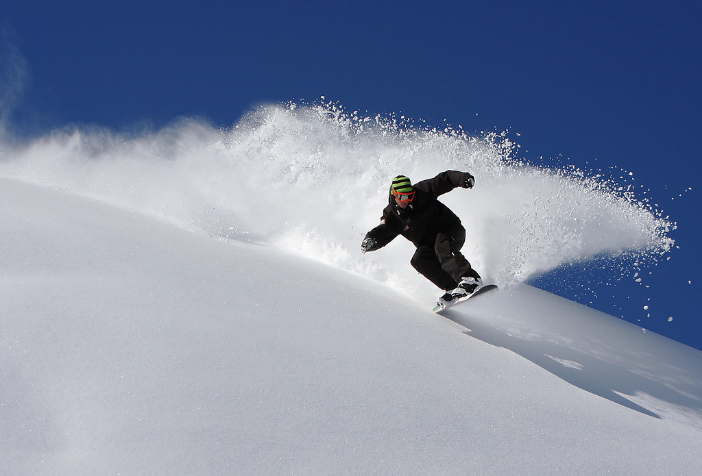 powder snowboard | Lee laird | Flickr