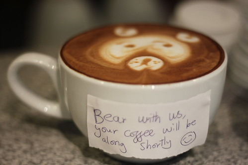 Bear with us.... | by RobsonBarista