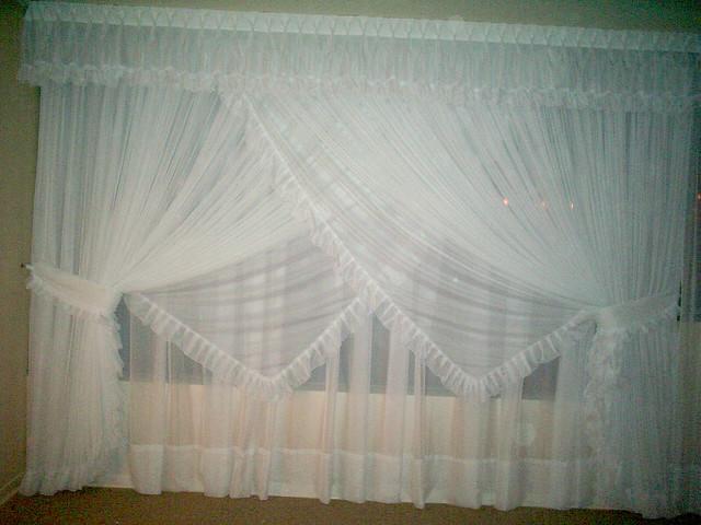cortina romantica cortina romantica doble 3 pa os con