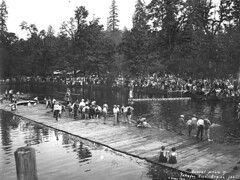 Schafer Brothers Logging Company annual picnic at Schafer State Park | by UW Digital Collections