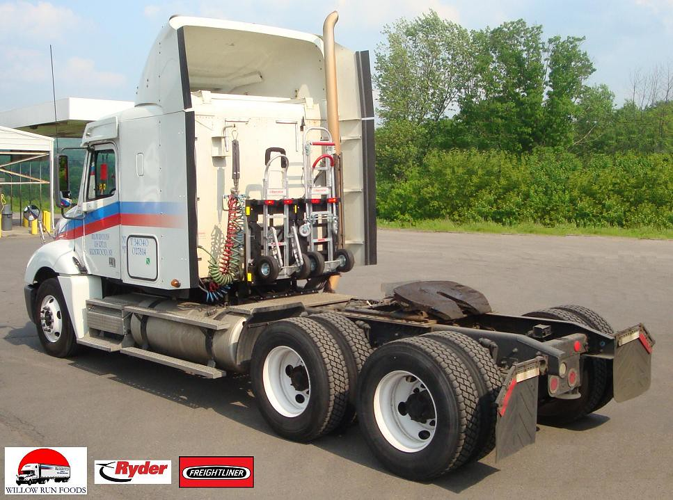 Tractor Chassis Design : Willow run foods ryder truck freightliner with hts dtf