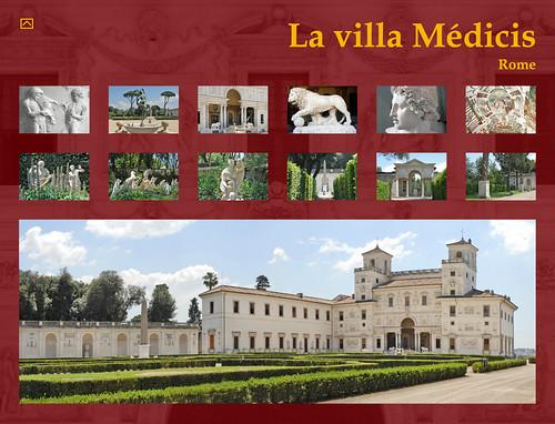 La villa m dicis rome menu de l 39 album de photos sur la for Jardin villa medicis rome