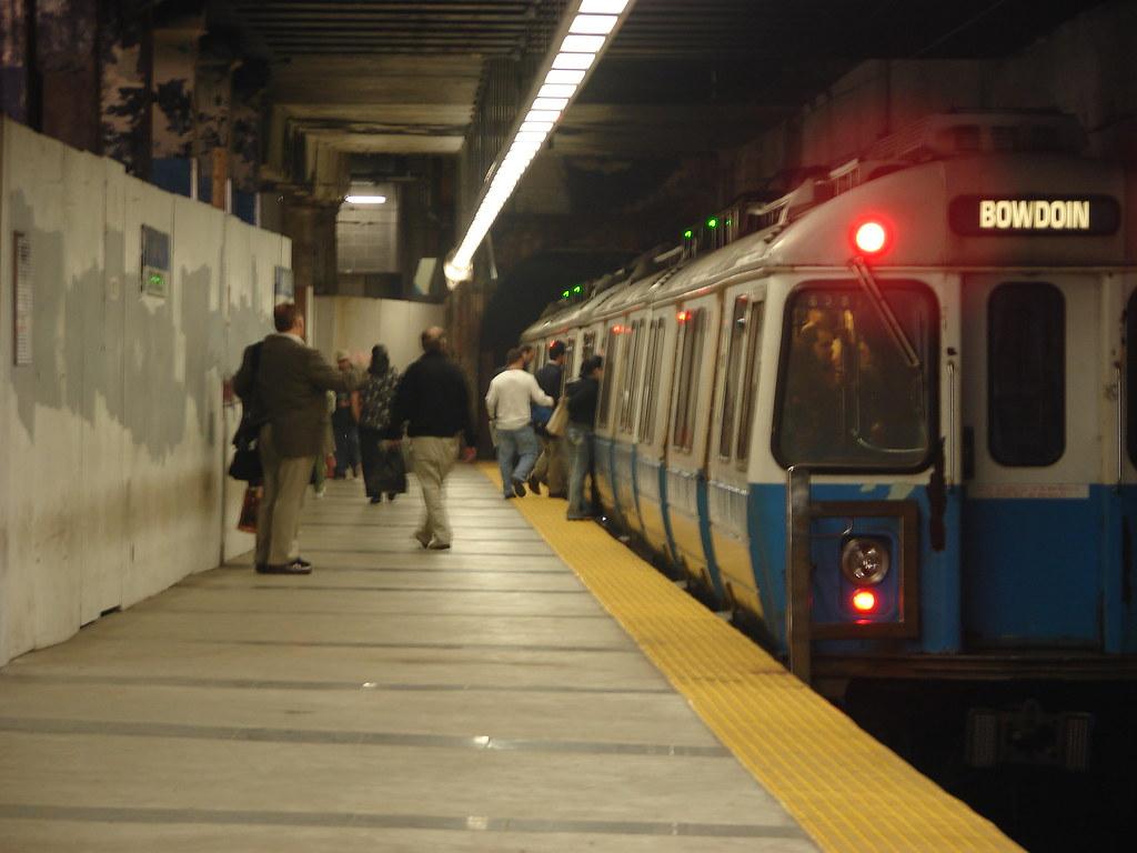 World Of Cars >> MBTA Blue Line Old Cars, Maverick Station | MBTA older Four-… | Flickr