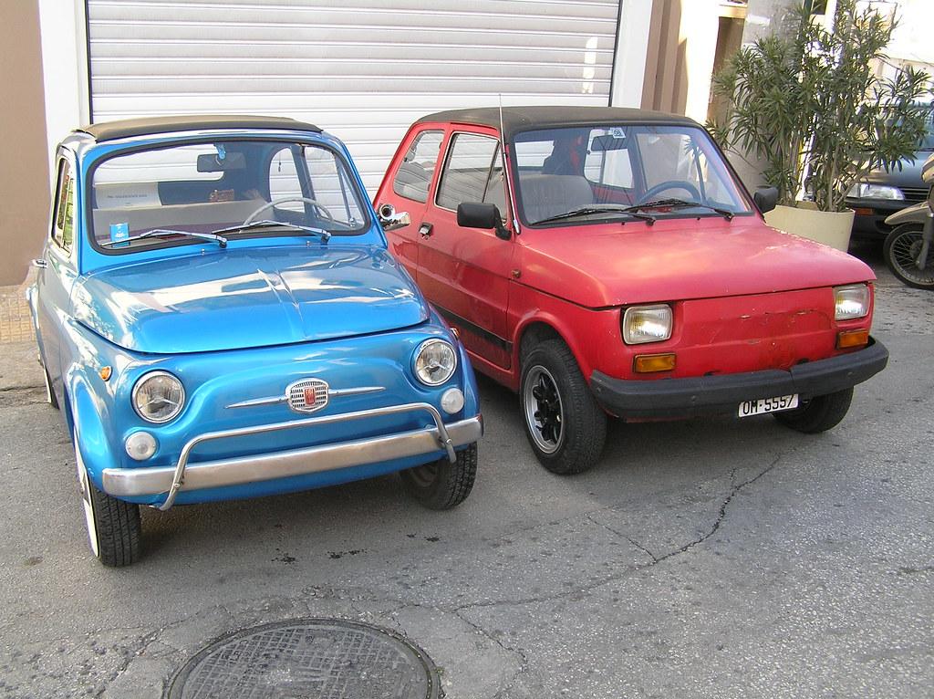 Fiat 500 126 Bis Kostas Vasilakis Flickr