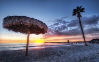 The Sunset in San Clemente California | by Stuck in Customs