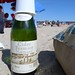 Drinking Cidre by the ocean in Deauville