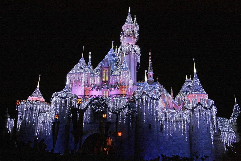 Sleeping Beauty Castle Disneyland Anaheim California Us