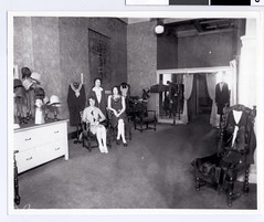 Interior of Mona Lee Frocks, Minneapolis | by Jewish Historical Society of the Upper Midwest